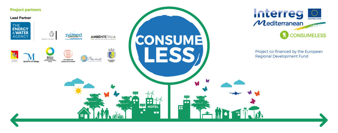 Consume Less in Mediterranean Touristic Communities
